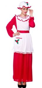 Mrs Santa Claus Costume (XM4526)